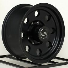 16 Inch Black Wheels Rims Dodge Chevy HD 2500 3500 Ford F F250 F350 Truck 8 Lug