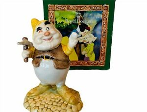 Snow White Seven 7 Dwarfs figurine Royal Doulton England Walt Disney box Happy