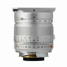 EU SHIP ✮ SILVER TTartisan 35mm f/1.4 LEICA-M mount Full-Frame Lens TTartisans