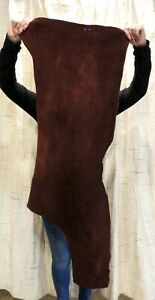 4-6 oz. WHISKEY BUFFALO Leather Hide for Native Western Crafts Moccasins