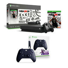 Xbox One X 1TB NBA 2K19 Console Bundle + Wireless Controller Fortnite Edition