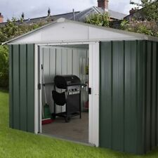10x10 Metal Garden Sheds Yardmaster Shed 10ft x 10ft Apex Galvanised Steel Store