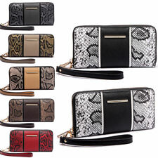 Unbranded Faux Leather Zip-Around Women's Purses & Wallets