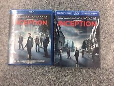 Inception Blu-ray, DVD, 3-Disc Combo Pack Leonardo DiCaprio W/ Digital Copy