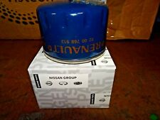 Nissan Genuine Oil Filter Engine Service Micra/Note/Qashqai 1520800Q0H - NEW