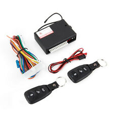 Universal Car 2 Remote Central Kit Door Lock Vehicle Keyless LED 315MHz 12V Set