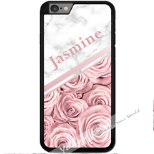 For iPhone 7 PLUS 5.5inch Case Cover PERSONALISED Rose Marble Name Y01511