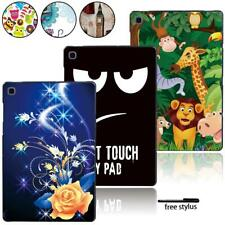"Tablet Hard Printed Cover Case Fit Samsung Galaxy Tab A A6 7"" 10"" /Tab E S5E+pen"