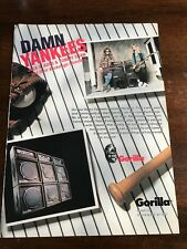 1990 VINTAGE 8X11 PRINT Ad FOR GORILLA AMPS with DAMN YANKEES SHAW & JACK BLADES