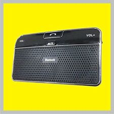 Hands-free Wireless Bluetooth Speakerphone CarKit Sun Visor for all cellphones
