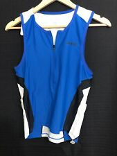 ZOOT - Men's Performance Tri Tank - Triathlon - Vivid Blue -small