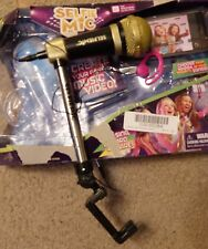 Candlelights Ltd Selfie mic Music Set, pink ear piece and black/golden mike