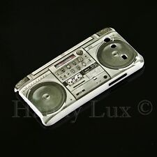 Samsung Galaxy S Advance i9070 Hard Case Schutz Hülle Motiv Etui Ghetto Blaster