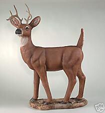 """43"""" Standing Deer Animal outdoor Garden Statue"""