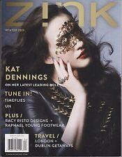 Zink Magazine Winter 2013, KAT DENNINGS.