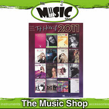 """New """"Top Hits of 2011 PVG """" Music Book - Piano Vocal Guitar"""