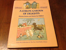 A CHILD'S GARDEN OF DELIGHTS Stories - Wizard of Oz, Raggedy Andy ++ 1987 HC/DJ