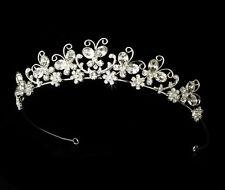 Butterfly Bridal Wedding Headband with Swarovski Crystals