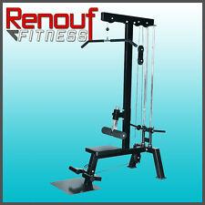 Lat/Row Combination Machine - Fitness Gym Equipment
