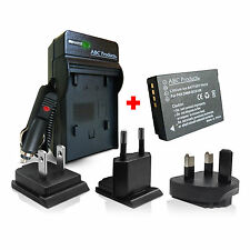 Battery + Charger DMW-BCG10E for Panasonic Lumix DMC-TZ7 TZ8 TZ10 TZ20 DMW-BCG10