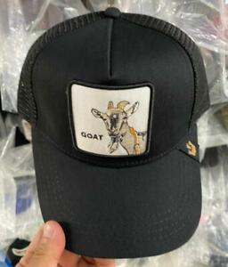 2021 Goorin Bros  Baseball Cap Trucker Snapback Hat Adjustable Animal GOAT