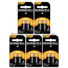 10 x N Duracell 1.5V Alkaline Batteries ( Medical, LR1, E90, MN9100 )