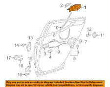 TOYOTA OEM 2018 C-HR Rear Door-Handle Outside Exterior Right 69230F4010B1