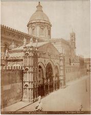 Sicile.Sicilia.Palerme.Palermo.Photo Cattedrale.Cathédrale.20x25cm.G.Incorpora.