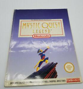 """Super Nintendo Lösungsbuch """"Mysic Quest Legend """" Spieleberater SNES Deutsch PAL"""