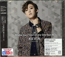 KEVIN (FROM U-KISS)-MAKE ME / OUT OF MY LIFE FEAT.K-JAPAN CD+DVD D73