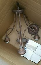 Pre-owned Vintage Chandelier Ceiling Light Free Shipping