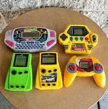 Lot Of 5 Mga Hand Held Video Game Vintage Gaming Tonka Game Name That Tune Centi