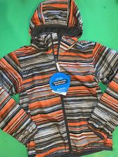 New! Columbia Sportswear Boys Zip Coat Jacket S 8 Youth Gift! Striped $60 School