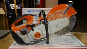 "Stihl TS420 Gas Powered 14"" Cutquik Concrete Cut-Off Saw Water Kit"