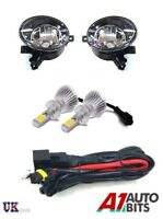 VW GOLF MK6 6 TOURAN JETTA TIGUAN CADDY FOG LED LIGHTS LAMPS + WIRING KIT & HB4