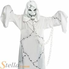 Boys Cool Ghoul Ghost Zombie Halloween Fancy Dress Costume Kids Child Outfit