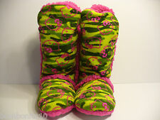 Hello Kitty Womens Plush Tall Boot Size Medium 7-8 Slippers, New Original Sanrio