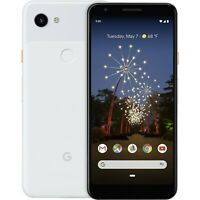 Google Pixel 3a XL - 64GB - White (Unlocked) Android 4G LTE WiFi Smartphone USED