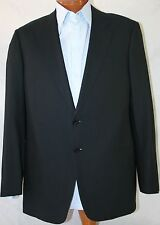 "New Armani Collezioni Black Wool Suit US 44R/W38"" EU 54R"