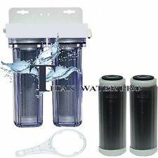 RO/DI Dual DI Filter Cartridges - Color Changing DI  - Add on to RO Made In USA