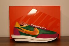 Nike X Sacai LD Waffle Pino Verde BV0073-301 UK 11 nos 12 totalmente nuevo dswt