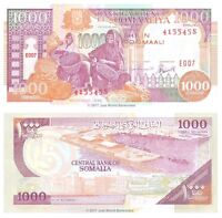 Somalia 1000 Shillings 1996 P-37b Banknotes UNC
