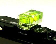 2X Double 2 Axis Bubble Spirit Level Hot Shoe For Nikon Pentax Canon DSLR SLR