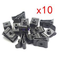 10pcs  Bumper Fender Nylon Clip U Nut #12 Screw Retainer 90467-05114 For Toyota
