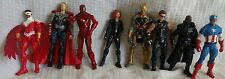 Marvel 3.75 Avengers toy lot, Nick Fury, Falcon, Thor, Black Widow, Hawkeye ++++