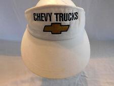 Vintage Chevy Trucks Visor Cap Hat Adjustable Strap Chevrolet
