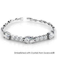 [Crystals from Swarovski®] Elegant Bracelet