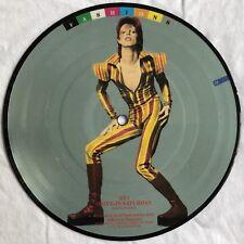"David Bowie-DRIVE IN Saturday-RARE UK ""FASHIONS"" 7"" PICTURE DISC/Vinyl record"