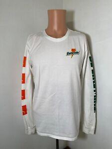 "Nike Jordan Gatorade ""Be Like Mike"" men's white long sleeve t-shirt size Medium"