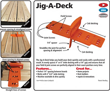 New FastCap Jig a Deck Spacer and Fastener System